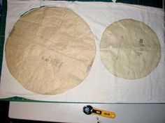 Patti's Place: Tutorial-Mop Cap Would make a great hat for Little Bo Peep