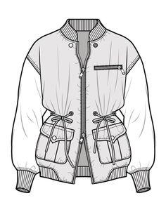 Fashion Portfolio Layout, Fashion Design Sketches, Flat Drawings, Flat Sketches, Technical Drawings, Croquis Fashion, Fashion Vector, Clothing Sketches, Fashion Figures