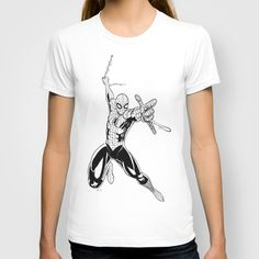 Spider-Man T-shirt by J. J. - $18.00