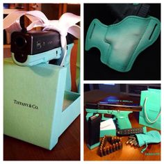 Tiffany Glock Savoy Leather Holster collection.