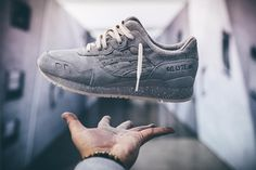 Reigning Champ x Asics Gel Lyte III - Grey (by trademarq__)