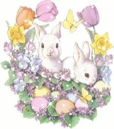 Rabbit Easter (Gif)