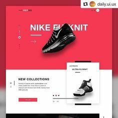 #Repost @daily.ui.ux (@get_repost) ・・・ REPQQ - Ecommerce landing page by Robert Berki ( https://dribbble.com/shots/2706087 )  #web #minimaldesign #ux #ui #uidesign #uxdesign #userinterface #userexperience #webdesign #dribbble #behance #desginblog #designblogone #productdesign #nike #productpage #landingpage #ecommerce _____________________  o---> 💡If you have an app/website/project that needs outstanding design contact us at: o---> 📥dailyuiux@gmail.com  _____________________  #applegeek…
