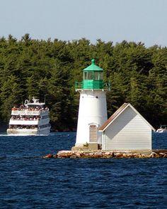 Sunken Rock Light, Alexandria Bay, Upstate New York (St. Lawrence River)