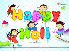 Holi Cartoon Wallpapers