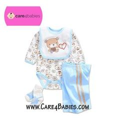 $16.80-$17.50 Infant Baby Boy Newborn Blue Rompers Trousers Socks BibTo Buy PM Us or Visit Us At https://www.care4babies.com/products/infant-baby-boy-newborn-blue-rompers-trousers-socks-bib#infantbabyboynewbornblueromperstrouserssocksbib #clothingboys #babyboyclothing #cuteinfantboyclothes #newbornboyclothes