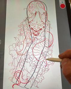 Samurai Artwork, Snake Tattoo, Mini Tattoos, Tattoo Inspiration, Tattoo Designs, Oriental, Friday, Japanese, Illustration