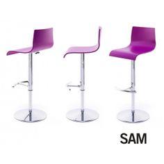mesas, sillas y taburetes para la cocina | Taburetes altos | TABURETE REGULABLE DE COCINA SAM ONDARRETA