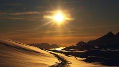 Winter in the Norwegian hills
