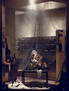 L'Atelier d'Arman http://www.charlesmatton.com/2001-2006/2/1/5/01.htm