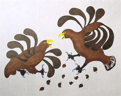 fighting hawks AGNES NANOGAK