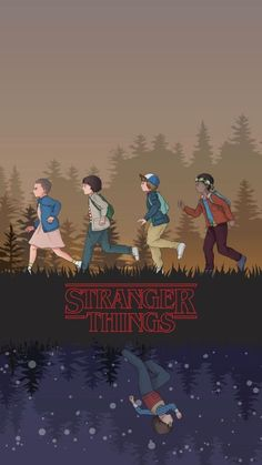 Hintergrund iphone Wallpaper Stranger Things Wallpaper Stranger Things by Ca. : Hintergrund iphone Wallpaper Stranger Things Wallpaper Stranger Things by Stranger Things Netflix, Stranger Things Tumblr, Stranger Things Kids, Stranger Things Aesthetic, Stranger Things Season 3, Vintage Illustration Art, Illustration Art Drawing, Art Drawings, Girl Illustrations