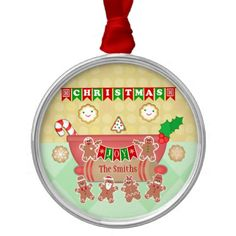 #Christmas #Cookie Joy #Personalized #Holiday #Ornament