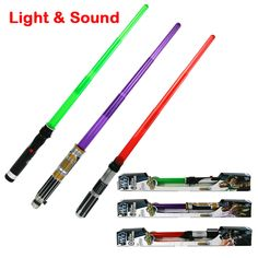 33Inch Foldable Star Wars laser sword with Sound and Light classic Star Wars lightsaber toy for kid Jedi scalable weapons gift *** Check out this great product.