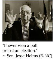 Jesse Helms on Politics
