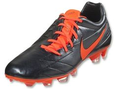 92d0b18fff0f Nike's Kangalite version of their successful Power and Accuracy boot gets a  lethal new look with the Nike Laser IV KL - Black / Total Crimson.