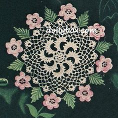 Katie Smith In case you feel adventurous ;)  Free Vintage Crochet - Irish Rose Doily Pattern