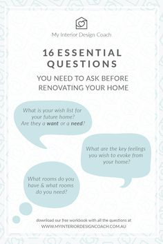 My Interior Design Coach, Jami Elliot, has created a series of home renovation workbooks that ask all the right question to help you with your interior design journey. They are free to download and super fun to complete! Head to the website to get your own copy.