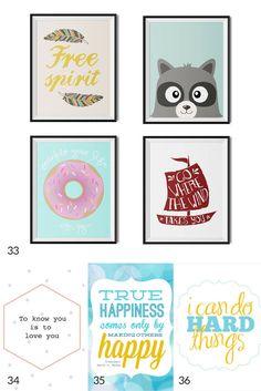 free kids art printables
