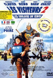 Les visiteurs 2: Les couloirs du temps (French pronunciation: [lɛ vizitœːʁ kulwaːʁ dy tɑ̃] (English: The Visitors II: The Corridors of Time) is a sequel to the original French film, Les Visiteurs. The film was followed by an American remake of the first Les Visiteurs, Just Visiting. Les Visiteurs II sold 8,035,299 tickets in France.