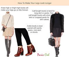 How To Make Your Legs Look Longer ← Paris Ciel - EN