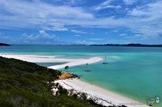 Veja aqui como chegar em Whitehaven Beach e dicas sobre passeios para um dos lugares mais incríveis para visitar na Austrália!
