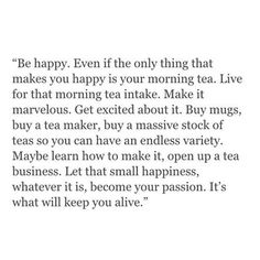 Live for that