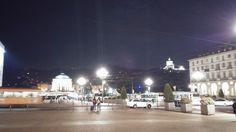 Torino - Piazza Vittorio.  Una dele più belle piazze di Italia a ridosso del #fiume #Po  #piazza #torino #sabaudia #granmadre #cappucini #ituoiluoghi