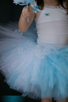 Frozen Tutu Princess Elsa Snow Princess Frozen by PiaMiaBoutique, $35.00
