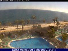 webcam Benalmadena Sunset Beach Club Malaga