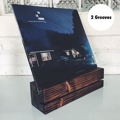 Now Playing Record Stand (2 Grooves)