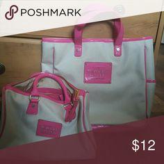 2 Victoria Secret purses Tan and pink handbags! Excellent condition! Victoria's Secret Bags Shoulder Bags