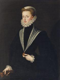 Sofonisba Anguissola, Portrait of Archduchess Johanna of Austria