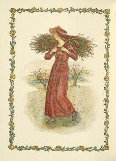 January - Kate Greenaway's Almanack for 1897
