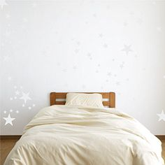 Vinyl Star Wall Decal Stickers for Home Wall Decor  Night Sky Removable Graphic Transfers for Nursery or Kids Room White 48x55 inches ** Want to know more, click on the image.