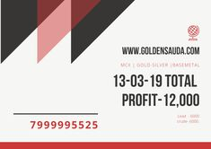 Golden Sauda provides Tips of MCX Market with very good accuracy.We have got best team of advisors who do research and give accurate MCX Commodity Tips Trials, Good Things, India, Marketing, Day, Free, Rajasthan India, Indian