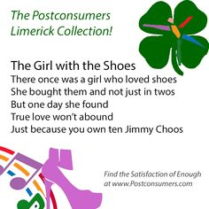 Fun Postconsumer Limericks: The Love of Shoes