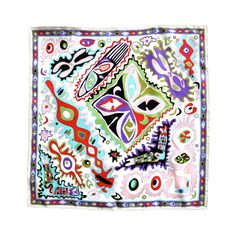 I would like to frame these.. - Pucci Abstract geometric printed silk pocket square.
