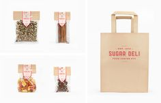 Sugar Deli Food Center NYC by Fred Carriedo, via Behance