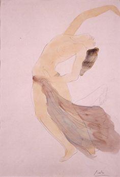 rodin watercolors