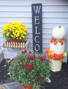 OUTDOOR FALL ENTRY - Our Crafty Mom