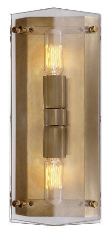 Bathroom Lighting Brands ruhlmann linear bath sconce :: wall sconces :: ceiling lights