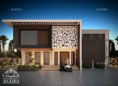 Ideas Exterior Villa Design Interiors For 2019 Exterior Wall Design, Exterior House Siding, Modern Exterior Doors, Exterior Paint Colors For House, Facade Design, Interior Exterior, Architecture Design, Bungalow Exterior, Interior Design Dubai