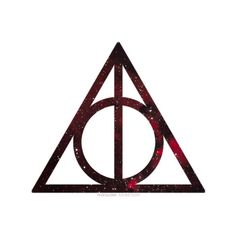 harry potter and the deathly hallows symbol Cloak of invisibility, elder wand & resurrection stone. I love HP! :)