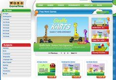 Word GameTime! FREE online Word Games!