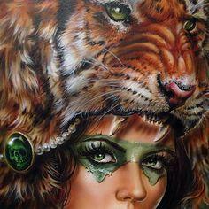 Majestic Paintings by Artist Derek Turcotte.|funpalstudio| art artist artwork beautiful colors creativity entertainment illustrations paintings