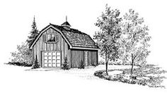 Small barn plan Small Barn Plans, Small Barns, Outdoor Buildings, Hobby Farms, New Homes, Houses, Cabin, Vacation, How To Plan