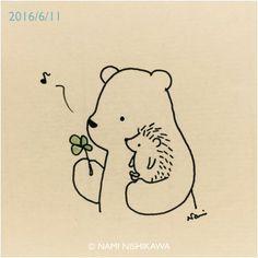 Bear & Hedgehog