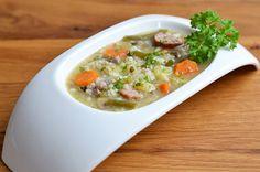Klassische Graupensuppe #Rezept #Eintopf #Großmutter #Oma #Foodblog #Suppe #Kindheitserinnerung #deftig #deutsch