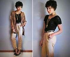 Thrifted clothing inspiration